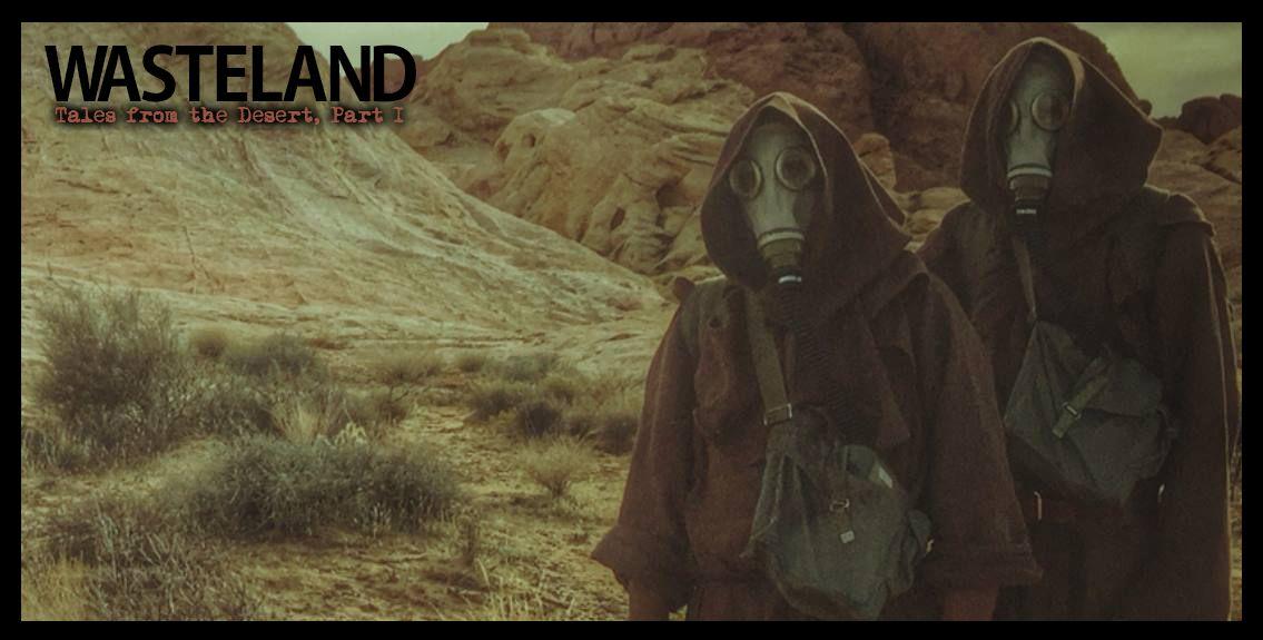 Two nomads stalk the desert wasteland...