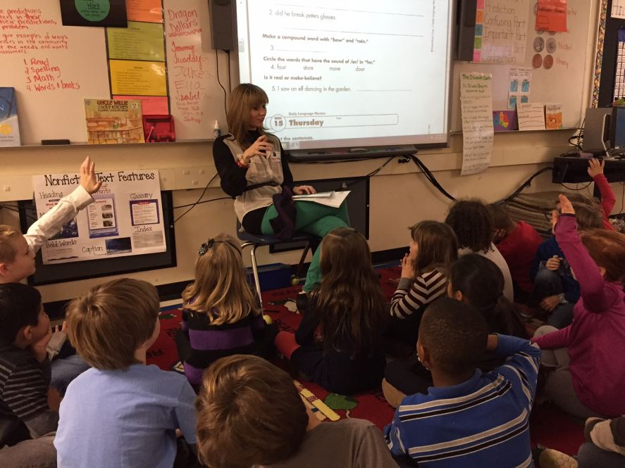 Co-Founder, Meg Seitz, on the Bea is for Business Second Grade Book Tour.