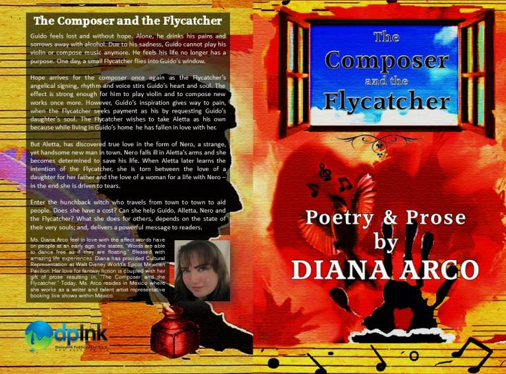 """The Composer and The Flycatcher,"" by Diana Arco of Mexico"
