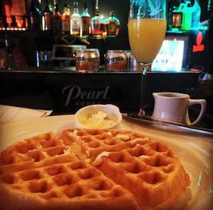 waffles and Mimosa