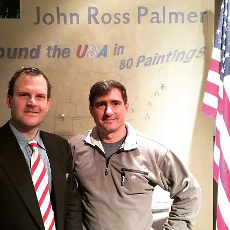 John Ross Palmer with Chuck Bagnato