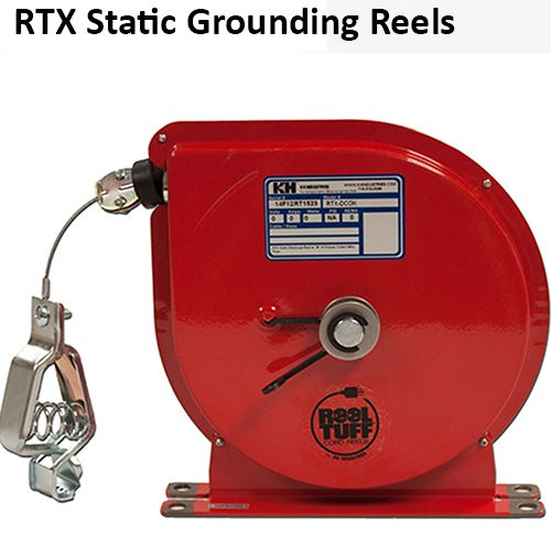 KH Industries RTX Static Discharge Grounding Cord Reel