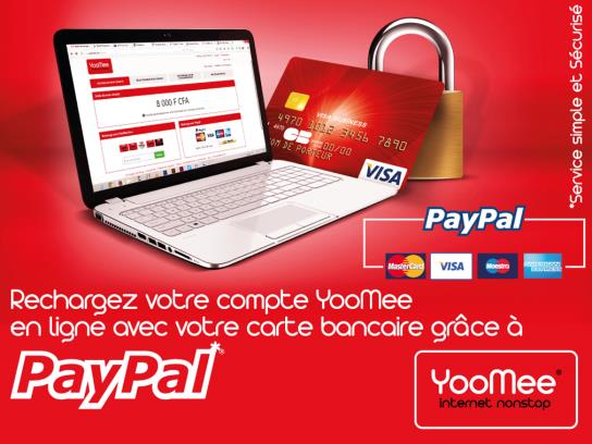 YooMee launches PayPal services