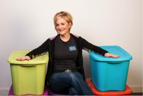Lynne Poulton of Wholly Organized!