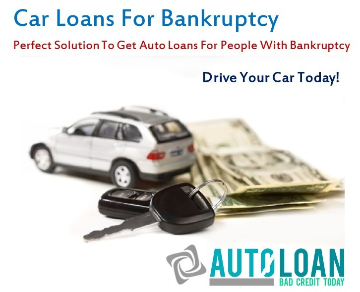 Car Loans For Bankruptcy With Competitive Interest Rates