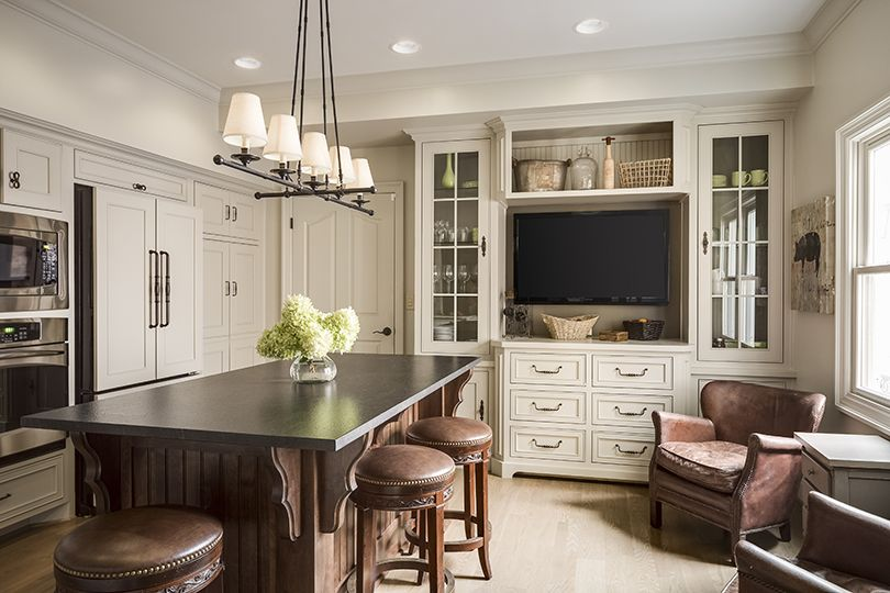 Scovell wolfe and associates inc receives best of houzz 2015 award scovell wolfe and - Space saving movable kitchen island get efficient kitchen traffic ...