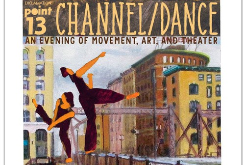 CHANNEL/DANCE (portion of poster)