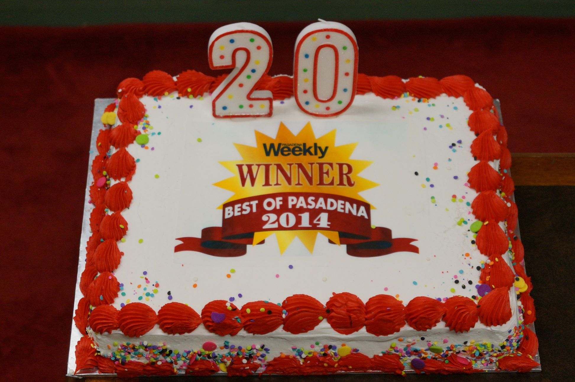 Best of 2014 Cake - 20th Year!