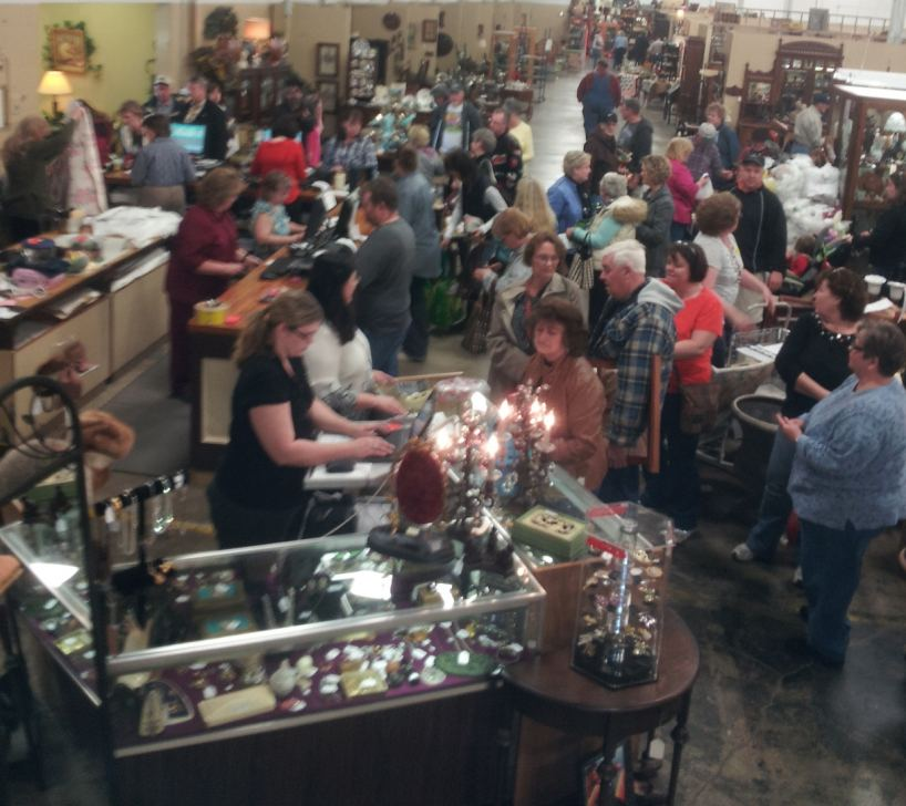 Old Mill Antique Mall Home: Great American Garage Sale At Relics Antique Mall