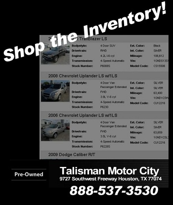 Quality Used Cars and Trucks