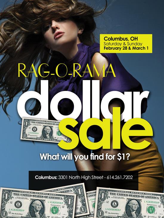 Columbus, Ohio Dollar Sale