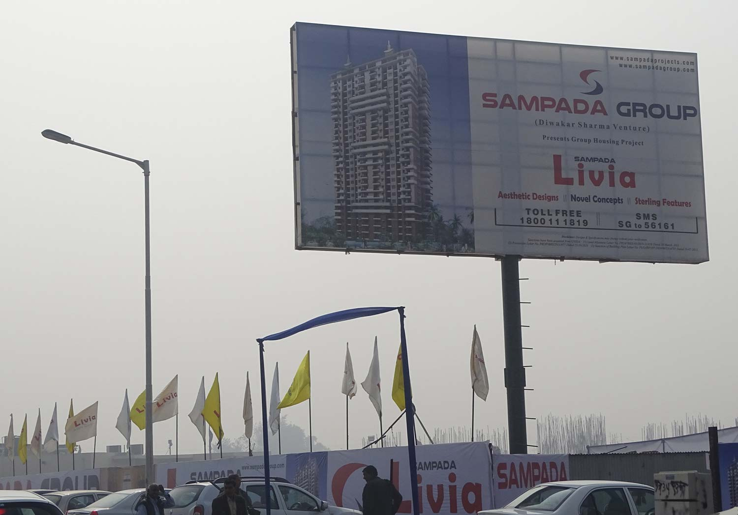 Sampada Livia, Group Housing Project for Govt Employees