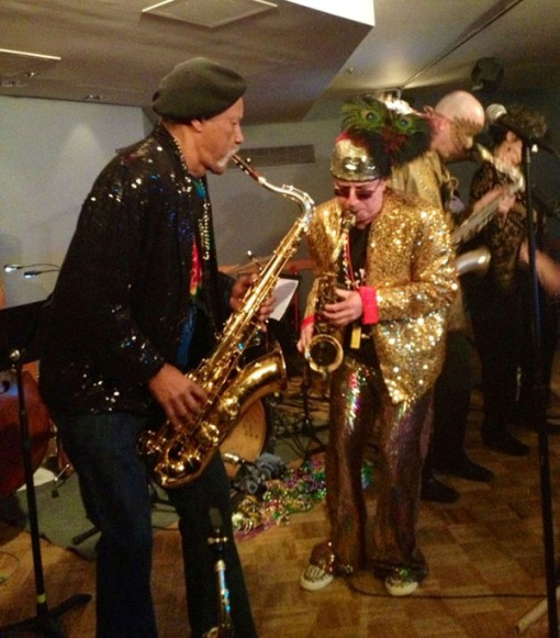 Charles Neville with Ken Field of RSE