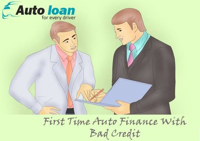First time auto loan with no credit