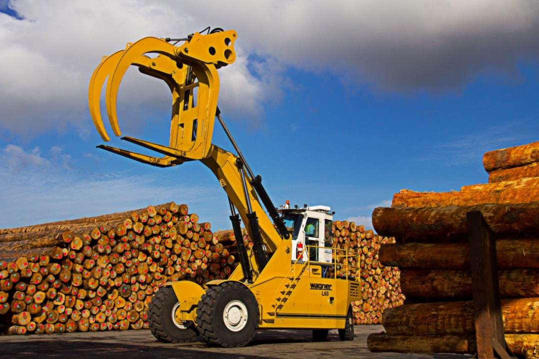 The All New Wagner L60 Logstacker