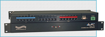 Model 7373 6-Channel A/B Switch with RS232 Serial Remote Control