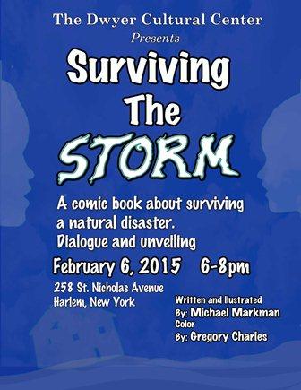 Markman Surviving the Storm flyer