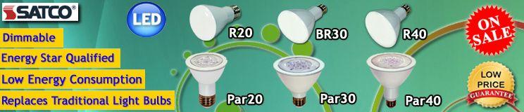 Satco LED Light Bulbs ON SALE