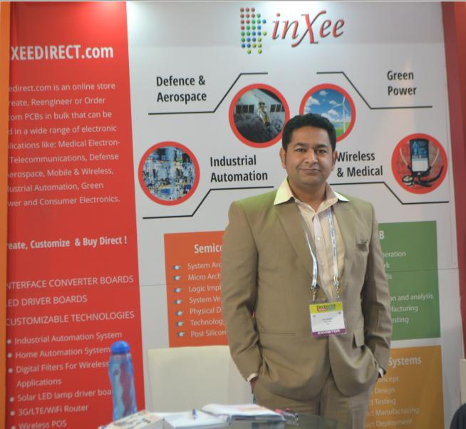 Director Inxee At Electronics For You Expo 2014