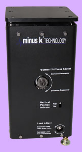 Minus K's LC-4 Ultra Low Horizontal Negative-Stiffness Vibration Isolator