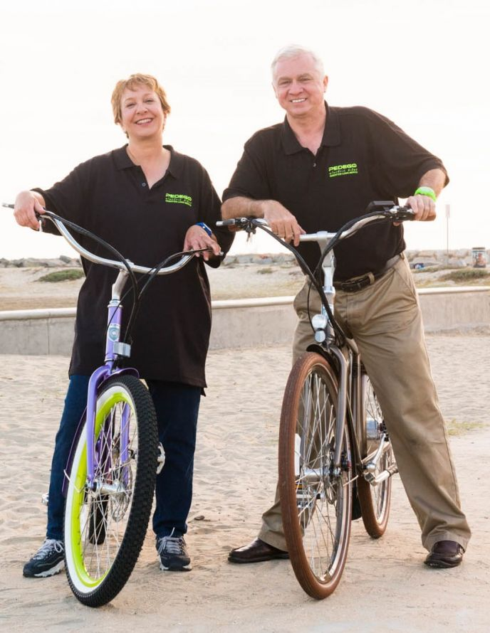 Beth Black and Brian Ballard co-own Pedego Greater Long Beach.
