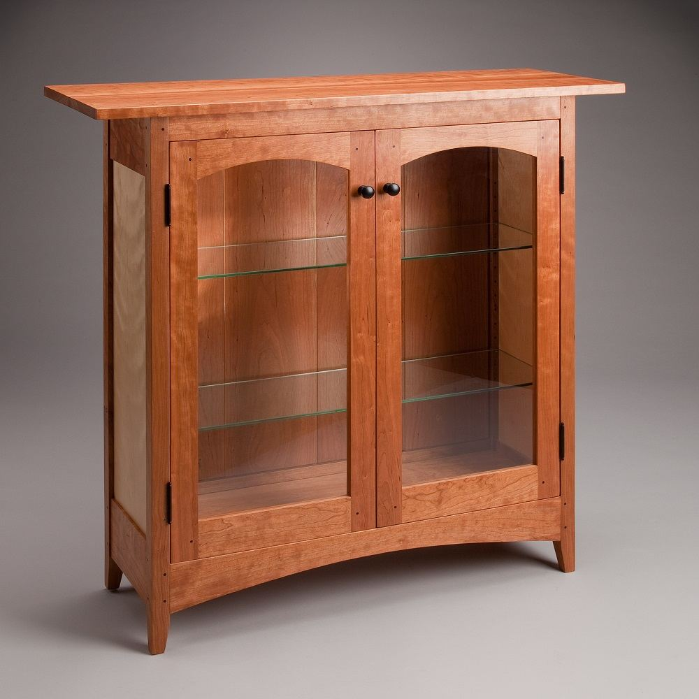 Display Cabinet Low, Cherry