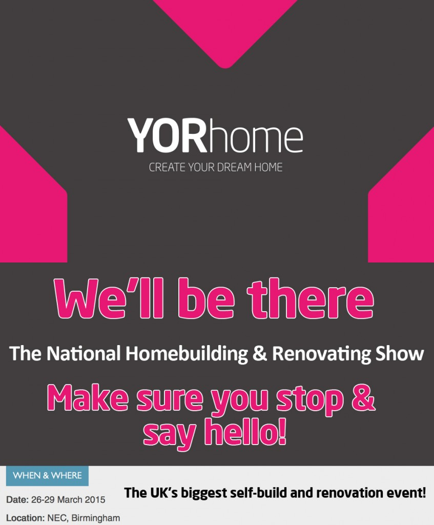 Homebuilding Renovating: Yorhome Exhibiting At The National Homebuilding