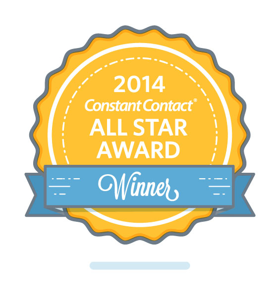 Constant Contact 2014 All Star Award