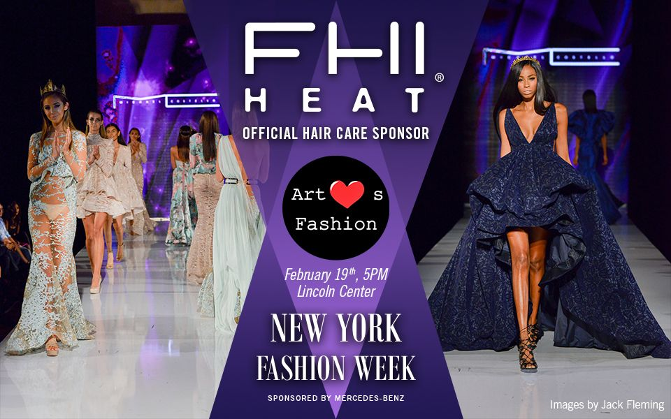 FHI HEAT® Official Hair Sponsor