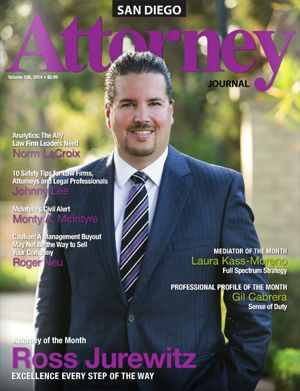 Attorney Ross Jurewitz - Attorney Journal San Diego