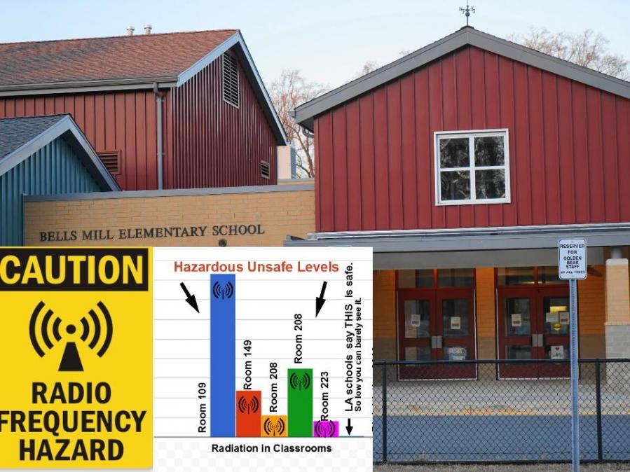 Radiation at Bells Mill Elementary School