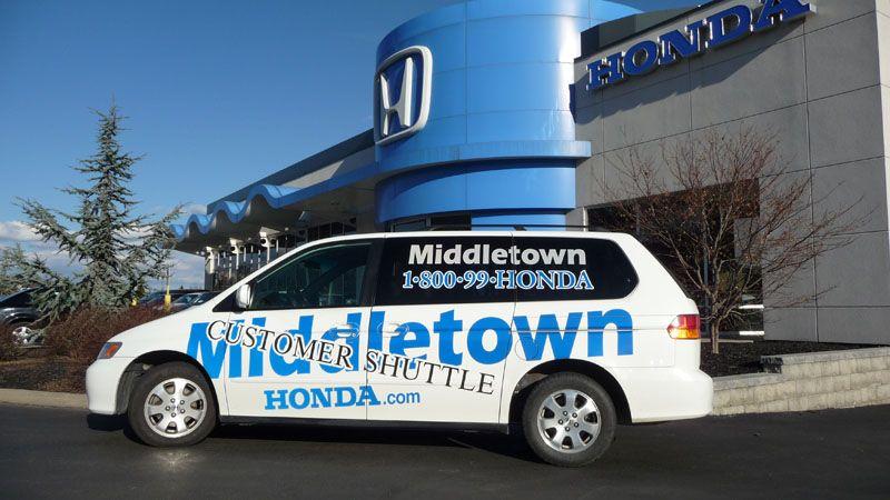 Middletown Honda Customer Shuttle
