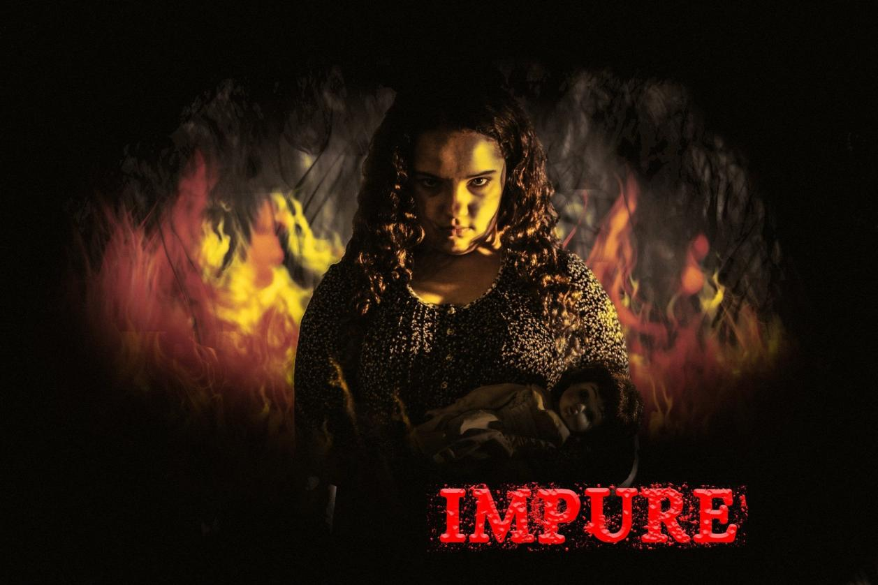 Rory Ogden stars as Dinah in Impure