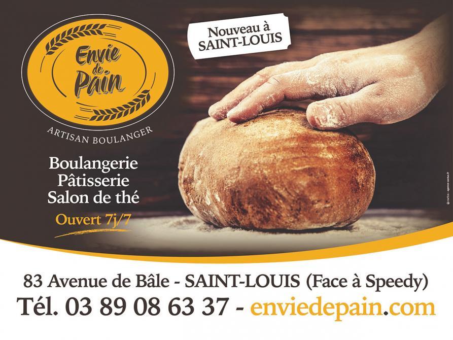 Envie de Pain - Artisan Boulanger, Saint-Louis