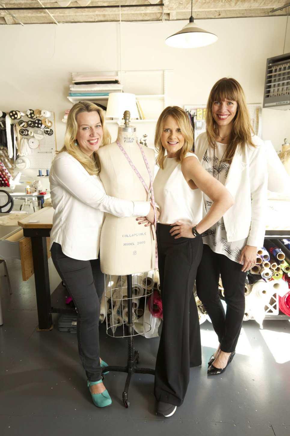 Pictured DeCourcy, Cheryl Strayed, Scarlett Chamberlin