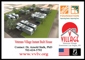 Veterans Village Instant Built House
