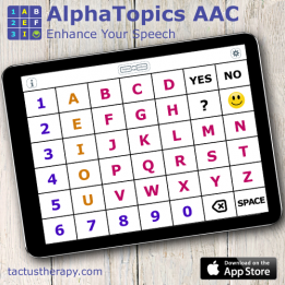 AlphaTopics AAC app is now available on the App Store