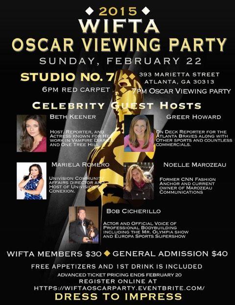 WIFTA OSCAR PARTY FEB 22