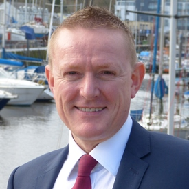 Simon Roberts Head of Yachting Services for Dominion Marine