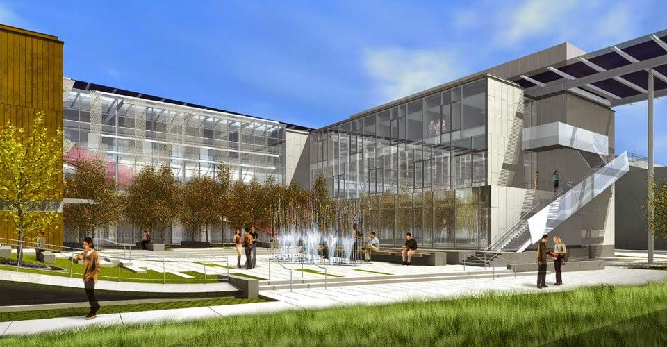 LMU Life Sciences Building- Rendering Courtesy of CO Architects