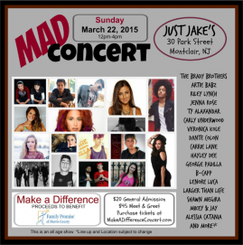 Make A Difference Concert March 22
