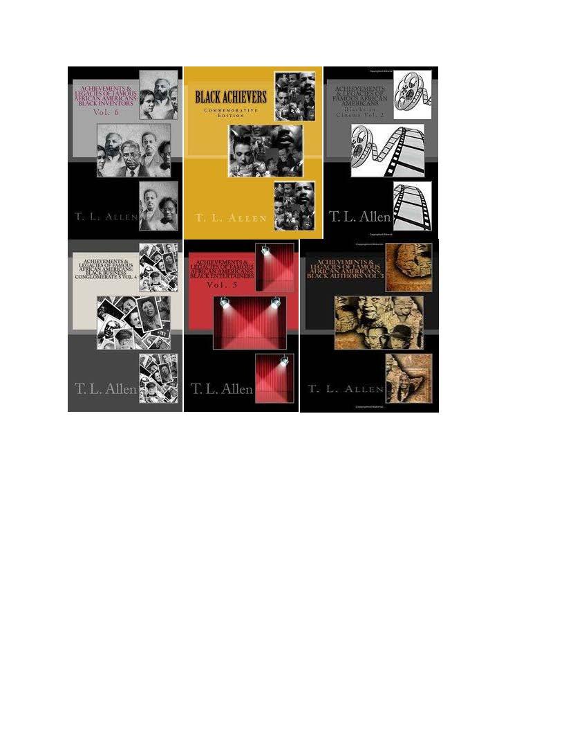 T. L. Allen Commerative Edition Books