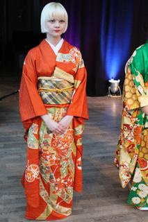 Furisode Kimono by Hiromi Asai
