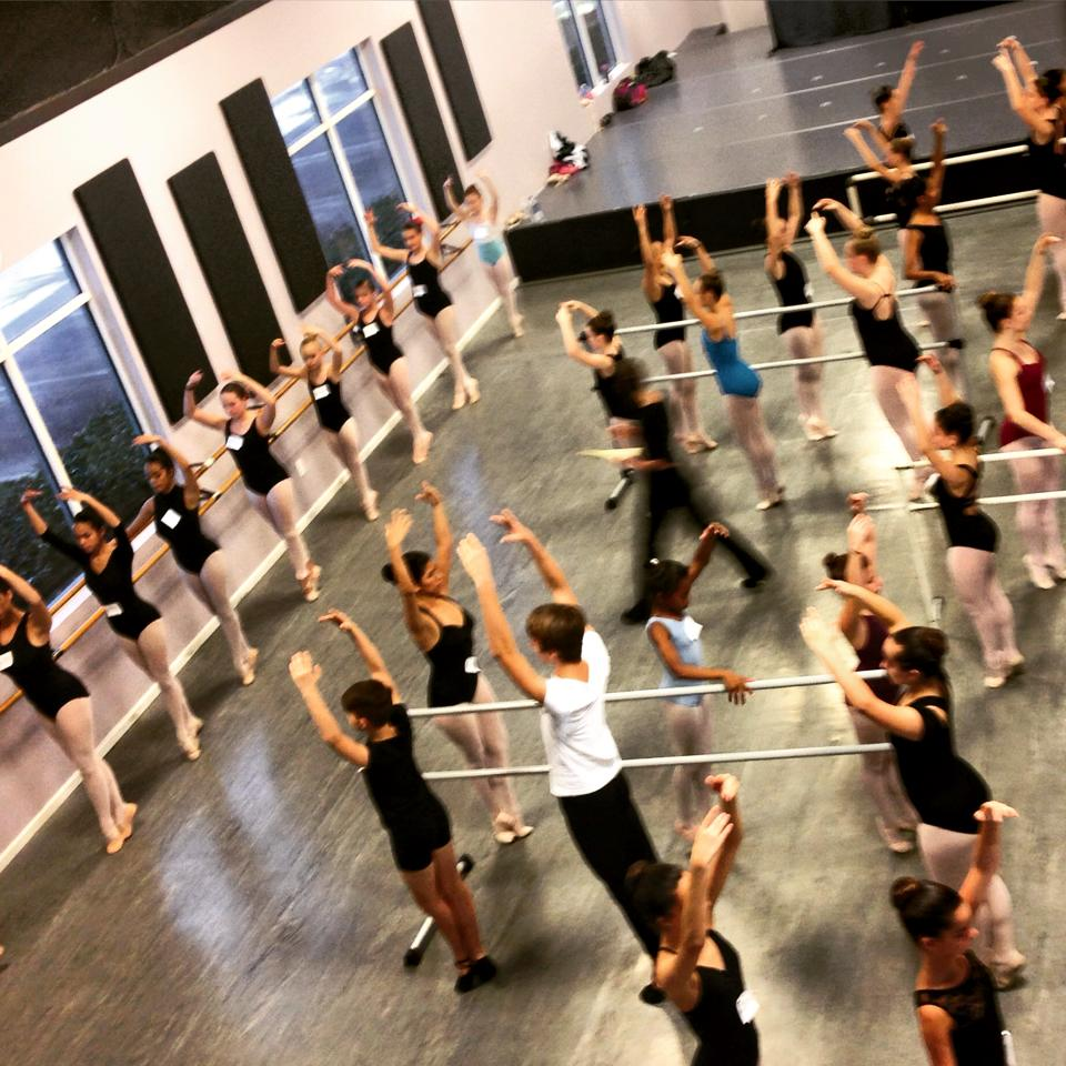 Performing Arts: World Renowned Joffrey Ballet School Holds Auditions At