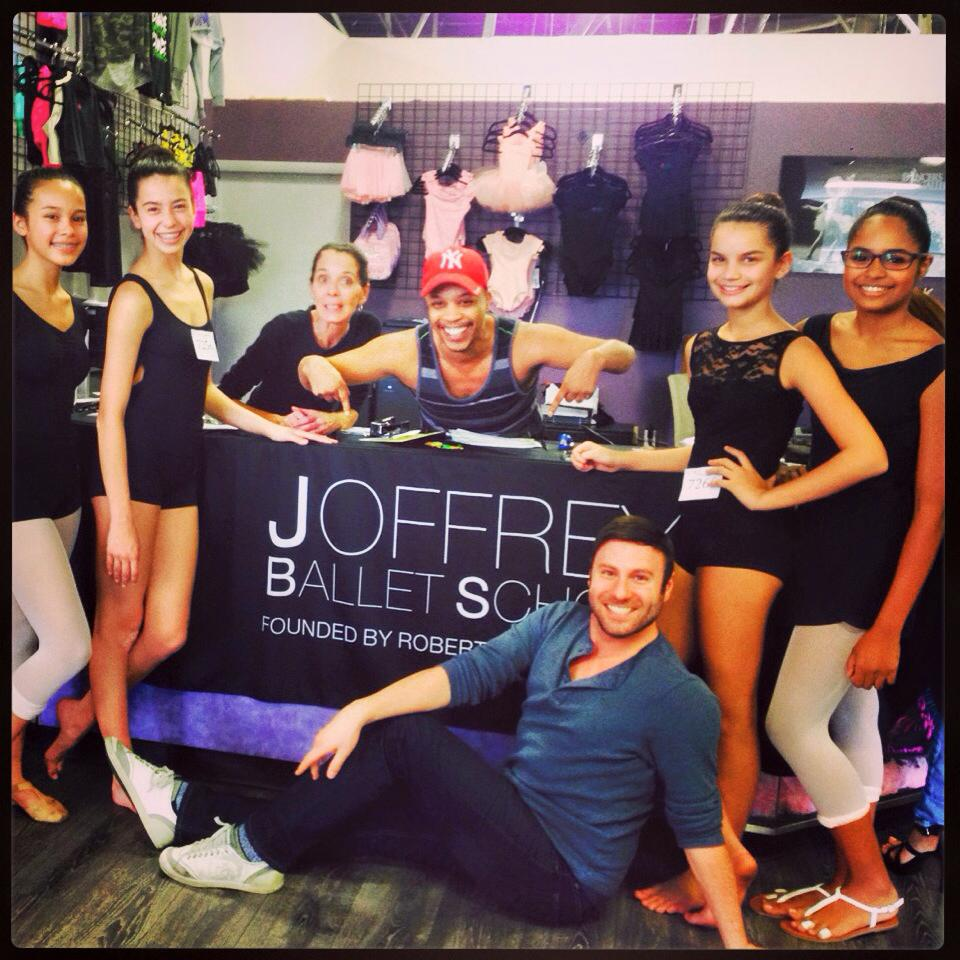 Joffrey Ballet School at Dancer's Gallery / CAST in Cooper City