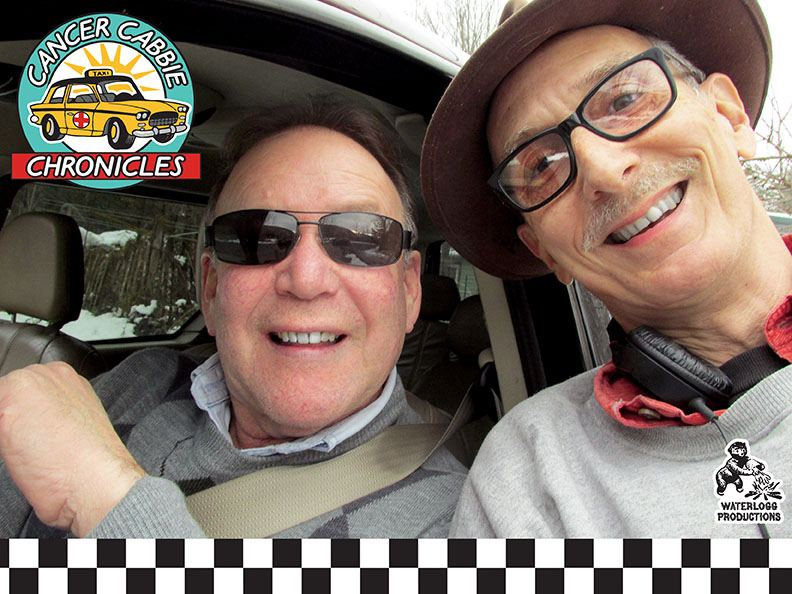 Joe Bevilacqua with Patrick Nilo of Ellenville, NY's CJ Cabs