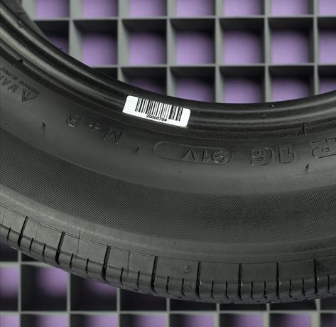 Tire Barcode Label