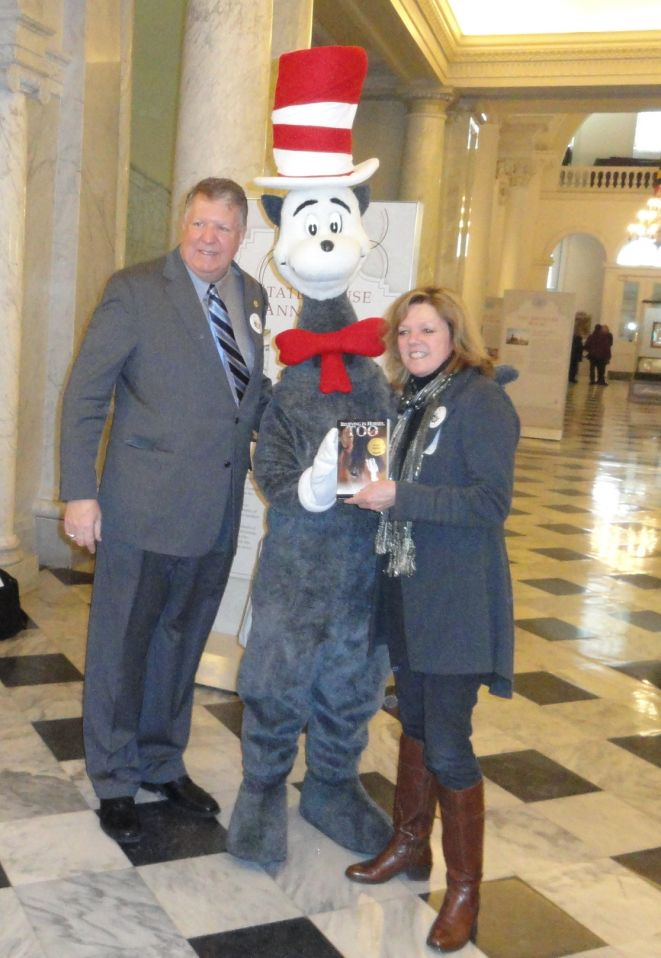 Senator Edward R. Reilly with Valerie Ormond at Md. State House