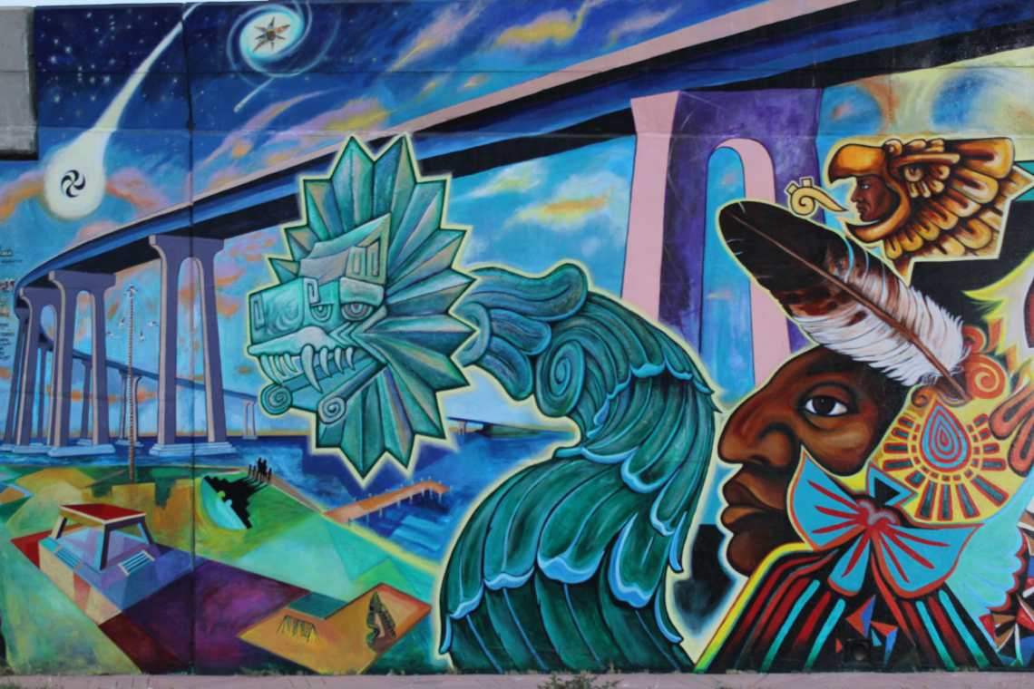 Chicano park documentary nominated for san diego film for Chicano mural art
