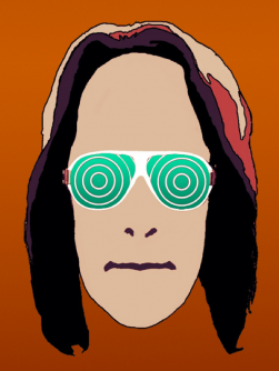 Underlying photo: Danny O'Connor.  Illustration: Todd Rundgren.